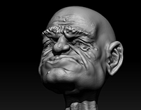 Face Sculpt Practice | ' Stretch '