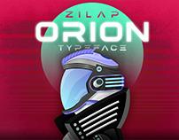 ZILAP ORION TYPEFACE
