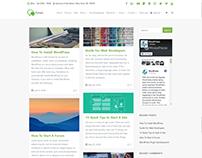 Blog Masonry - Right Sidebar - Forum WordPress Theme