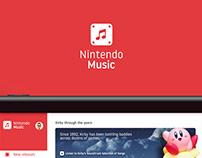 Nintendo Music Concept