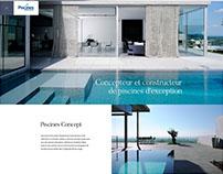 Piscines Concept - Webdesign