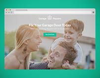 Garage Repairs - Landing Page
