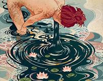 Self-drowning