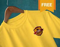 Amazing Free T Shirt Mockups – Round Neck