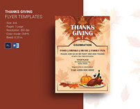 Thanksgiving Invitation Flyer