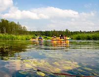 En route... Krutynia River