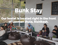 Backpacker's Hostel Website