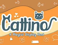 Cattino Display Font