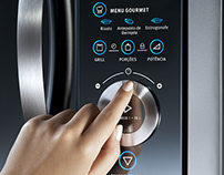 Microwave's UI with Scroll Wheel