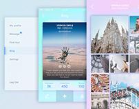DCT - iOS travel app concept