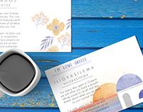 Watercolour Postcards | Greek Islands