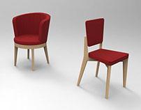 Repetto chaises