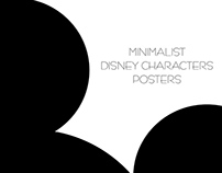 MINIMALIST DISNEY CHARACTERS POSTERS