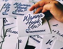 FISHMANIA Logo + Stickers