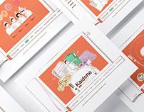 [開動 Kaidone] Motion Graphic Web Design