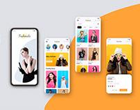 Fashion eCommerce app UI Design