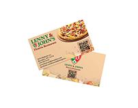 Lenny & John's Pizzeria Restaurant