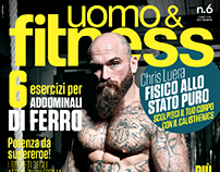 uomo&fitness // Anteprima Cover ISSUE #6