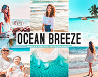 Free Ocean Breeze Mobile & Desktop Lightroom Presets