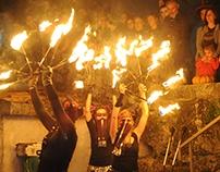 Espetáculo de Fogo  Festival da Rainha 2016, Estremoz