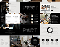 24+ simple business plan PowerPoint template