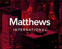 Matthews International Rebranding