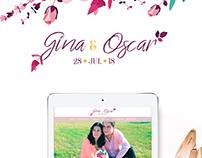 Wedding Website /Página Web de Boda