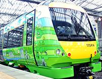 BORDERS RAILWAY TRAIN CARRIAGE LIVERY DESIGN