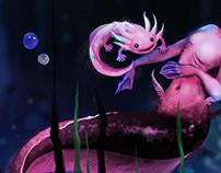 Mermay axolotl