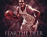 "Giannis Antetokounmpo-""Fear the Deer"" Hunter"