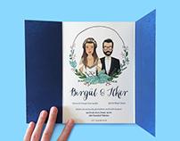 Wedding Invitation Birgül & Ilker