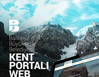Balikesir Kent Portali Web Design