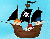Hra/ Game Pirates