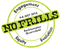 No Frills 2016 - Conference branding