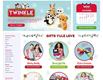 Omnichannel Campaign: Claire's Christmas 2017,