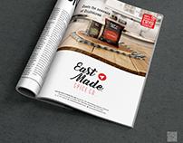 Eastmade Spice Co. Magazine ads
