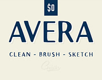 Avera Font Collection - 5 Free Fonts for Commercial Use