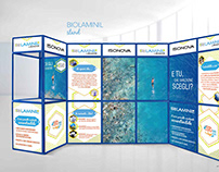 BioLaminil Stand and Visual Communication