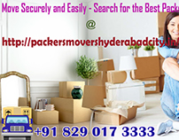 Packers And Movers Hyderabad – Exactly How On-Line