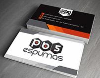 PBS Espumas | Cartões de Visita