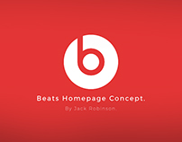 Beats Homepage Graphic