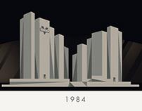 1984 / Brave New World Concept Art