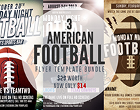 American Football Flyer Bundle