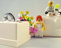 LEGO Wedding Prep - 2015