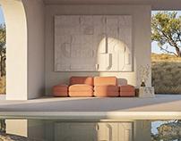 Santa Fé modular sofa