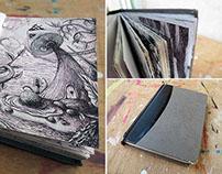 Sketchbook / Postal Card from other worlds...