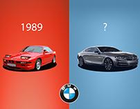 BMW 8 series illustration for GULF GEORGIA