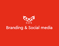 SOS.CAFE Branding and Social media