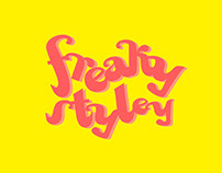 FREAKY STYLEY DISPLAY FONT