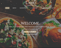 restaurant web site design